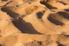 Desert sand texture Royalty Free Stock Photo