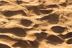 Desert sand texture Royalty Free Stock Images