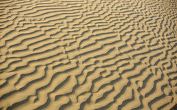Desert, sand weaves pattern background Royalty Free Stock Images