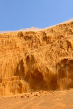 Desert Sandfall Stock Photo