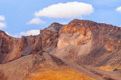 Desert sands of Teide volcano in Tenerife, Spain Royalty Free Stock Image