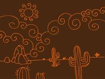 Free Desert Scene Stock Image - 14870301