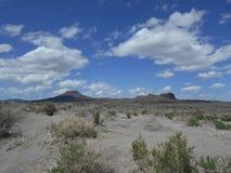 Desert scene - Central Oregon. Table Rock and surrounding high desert near Silver Lake, Oregon Stock Image