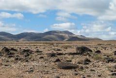 Desert scenery (Canary Island) Stock Photography