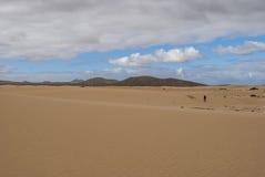 Desert scenery (Canary Island) Stock Photo