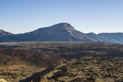 Desert Scenery (Canary Islands) Stock Photography