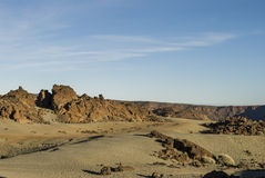 Desert Scenery (Canary Islands) Stock Images
