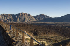 Desert Scenery (Canary Islands) Royalty Free Stock Photos