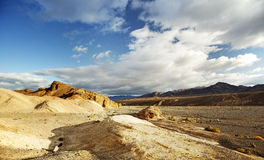 Desert scenery in the Death Valley Stock Image
