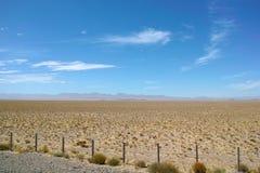 Desert scenery Stock Image