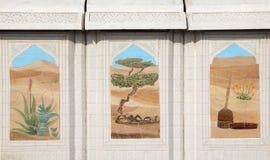 Desert scenes in Doha Royalty Free Stock Image