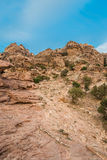 Desert scenic near petra jordan Stock Photo