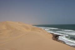 Desert and Sea Stock Photos