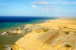 Desert and Sea Royalty Free Stock Photo