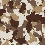 Desert seamless camo Stock Images