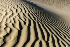 Desert shape Royalty Free Stock Photos