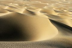 Desert shape Royalty Free Stock Photo