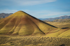 Desert shapes and colors, Painted Hills, Oregon Royalty Free Stock Image