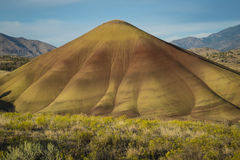 Desert shapes and colors, Painted Hills, Oregon Stock Images