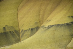Desert shapes and colors, Painted Hills, Oregon Royalty Free Stock Images