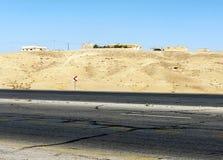Desert Shobak in Jordan Stock Photography