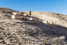 Desert Shobak in Jordan Royalty Free Stock Image