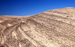 Desert Shobak in Jordan Stock Images