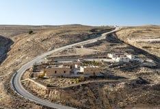 Desert Shobak in Jordan Royalty Free Stock Images