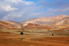 The desert Sinai in December Stock Photo