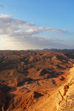 The desert Sinai in December royalty free stock photography