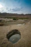 Desert Sinkholes Royalty Free Stock Photo