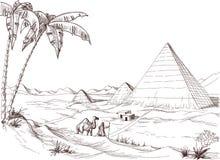 Free Desert Sketch Stock Images - 45263354