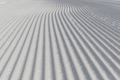 Desert ski slope in winter time Royalty Free Stock Photography