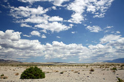 Desert and Sky Royalty Free Stock Photography