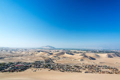 Desert Slums Royalty Free Stock Image