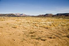 Desert in Southern Utah Royalty Free Stock Photography