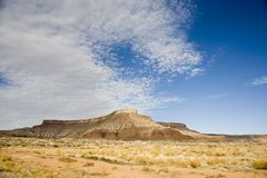 Desert in Southern Utah Royalty Free Stock Images