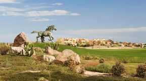 Desert Springs Golf Course Royalty Free Stock Photos