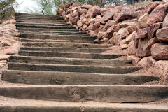 Desert Stairs Royalty Free Stock Photos