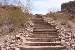 Desert Stairway Stock Photography