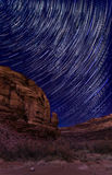 Starry Night on Long Canyon Road Royalty Free Stock Photo