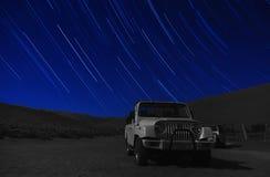 Desert stars Stock Images