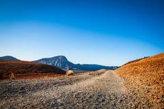 Desert. A stone deset created by a vulcano Stock Photo