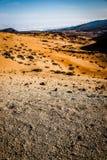 Desert. A stone deset created by a vulcano Stock Photography