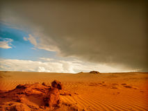 Desert storm Stock Photography