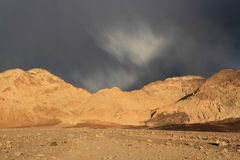 Desert storm. In Death Valley National Park, California Royalty Free Stock Photos