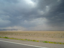 DESERT STORM IN IRAN Royalty Free Stock Image