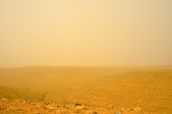 Desert storm Royalty Free Stock Photography