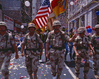 Desert Storm Victory Military Parade, Royalty Free Stock Photos