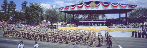 Desert Storm Victory Military Parade, Royalty Free Stock Images